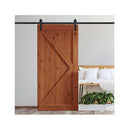 Antique Classic Style Double Sliding Barn Door