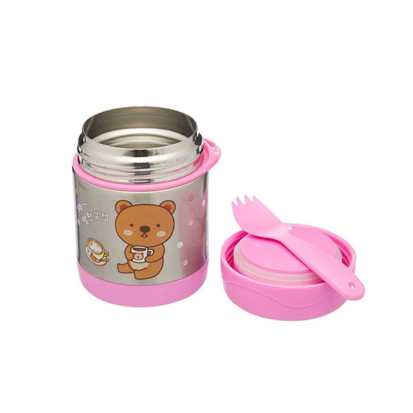 300Ml Kid Stainless Vacuum Insulated Food Jar Container