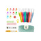30 Pcs Crochet Hooks Kit Yarn Knitting Tools Grip Set With Bag