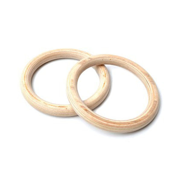28mm Wooden Olympic Gymnastic Rings