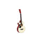 38 Inch Wooden Acoustic Guitar Left Handed Natural Wood