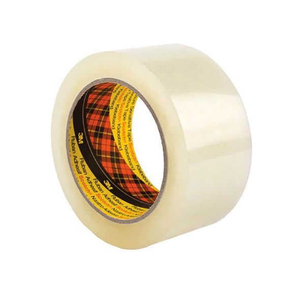 3M Scotch Clear Packaging Tape Strong Packing Moving Adhesive Pack