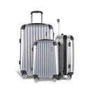 3 Piece Luggage Suitcase Trolley