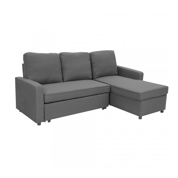 3 Seater Corner Sofa Bed With Storage Lounge Chaise Couch