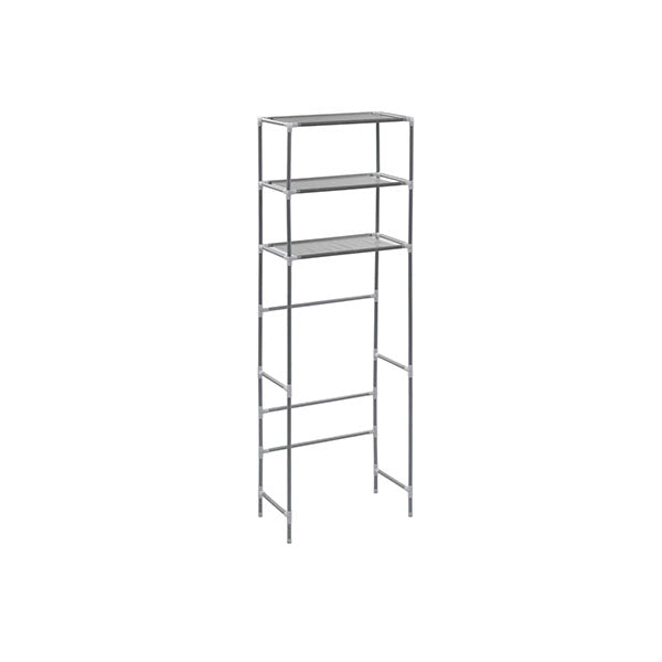 3 Tier Storage Rack Over Toilet Silver