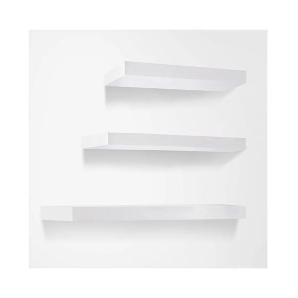 3 Pcs Floating Bookshelf Display