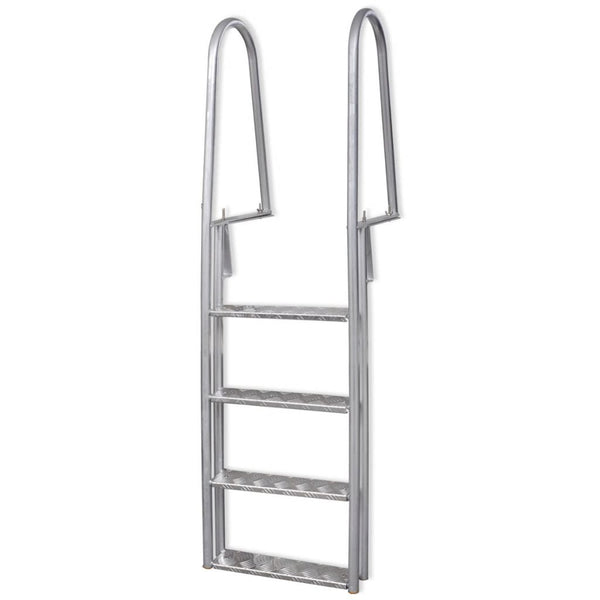 4-Step Dock / Pool Ladder Aluminum 170 Cm
