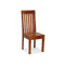 4 Pcs Dining Chairs Solid Wood With Sheesham Finish Modern