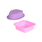 50 Pcs 3D Shaped Soap Silicone Mold Handmade Tools Square Ellipse