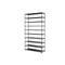 50 Pairs 10 Tier Shoe Rack Metal Shelf Holder Stackable Portable