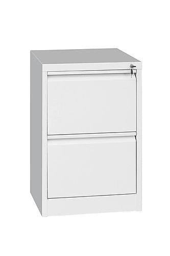 2-Drawer Storage Locker Cabinet