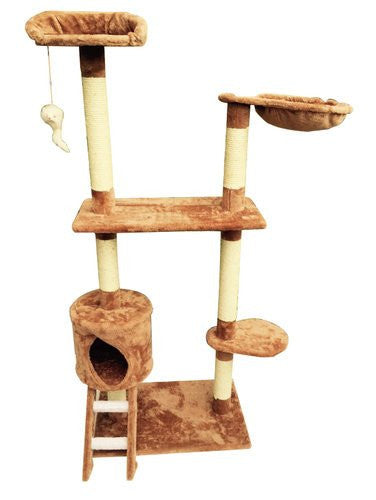 122CM Cat Tree Scratching Post