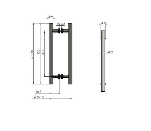 Sliding Door Hardware Stainless Steel