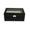 12 Grids Watch Display Leather Jewellery Storage Organizer Lock Key