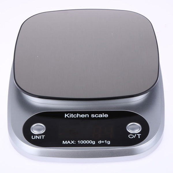 Kitchen Scale Digital LCD Electronic Weight Scales 10kg 1g