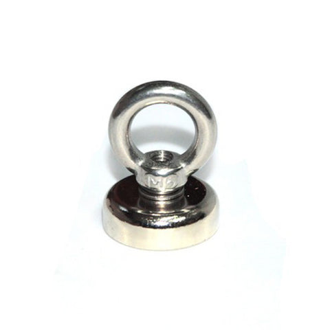 12Kg Salvage Magnet N52 Neodymium Eyebolt Circular Ring Fishing