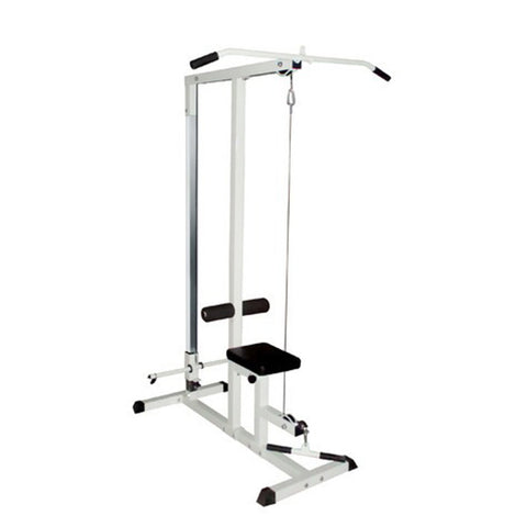 Home Fitness Multi Gym Lat Pull Down Workout Machine Bench Exercise