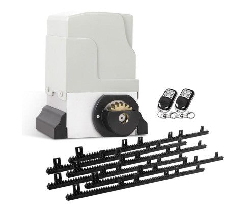 1200KG Automatic Sliding Gate Opener 6M with Remotes