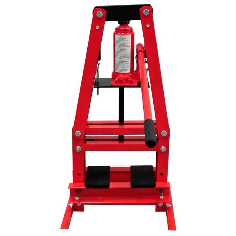6-Ton Hydraulic Heavy-Duty Floor Shop Press