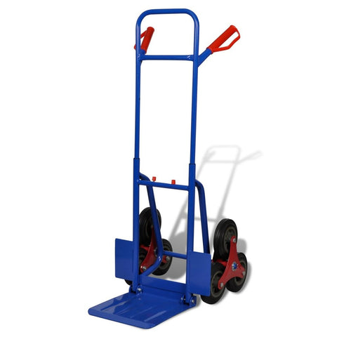 6-Wheel Sack Truck with 150kg Capacity