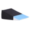 Cool Gel Memory Foam Wedge Pillow Cushion Neck Back Support With Cover