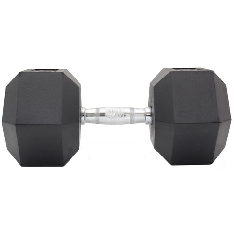 Commercial Rubber Hex Dumbbell Gym Weight