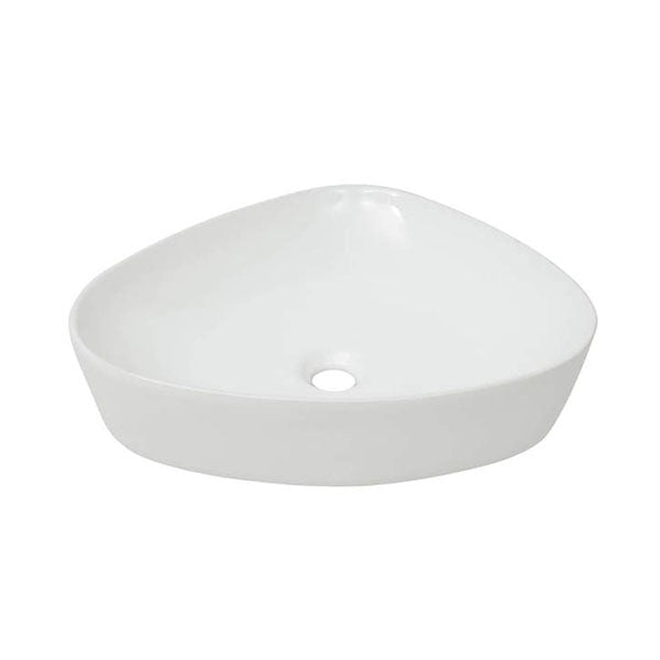 Basin Triangle Ceramic White 50.5 x 41 x 12 Cm