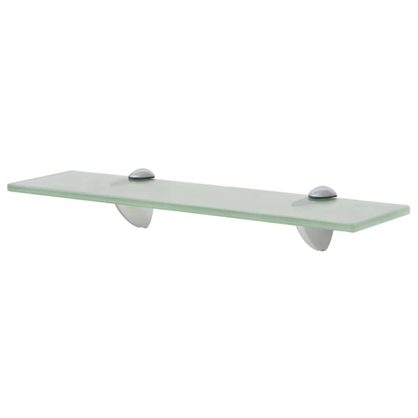 Floating Shelf Glass Frosted 40 x 10 Cm 8 Mm