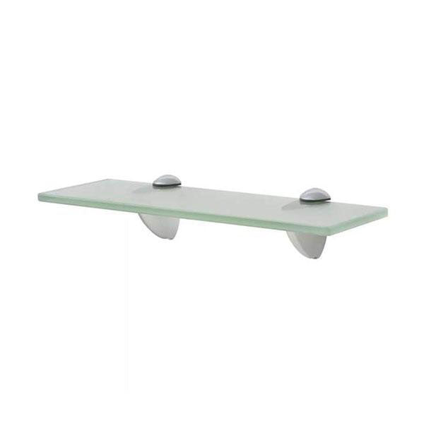 Floating Shelf Glass 30 x 20 Cm 8 Mm Frosted