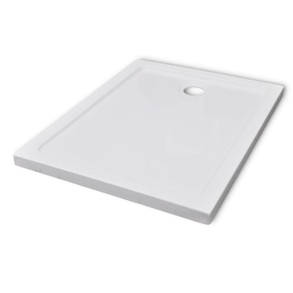 Rectangular ABS Shower Base Tray 70 x 90 Cm