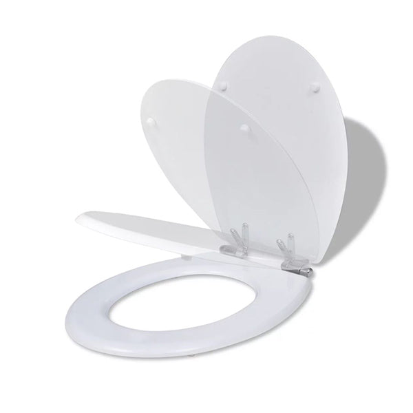 Toilet Seats With Soft Close Lids Mdf White