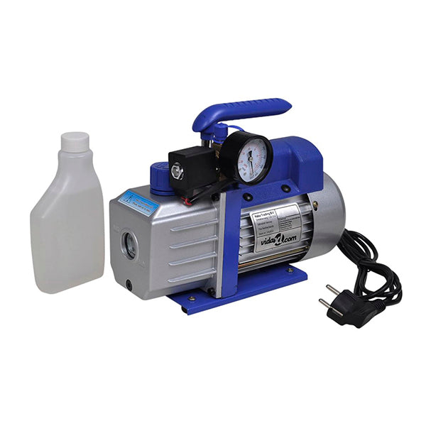 Single Stage Vacuum Pump With Pressure Gauge 71 L Per Min