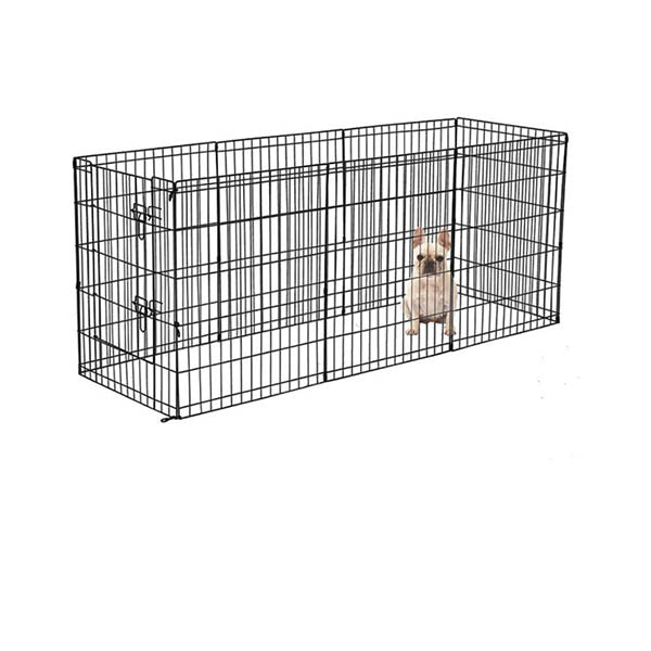 8 Panel Pet Dog Playpen Puppy Exercise Enclosure Fence With Door