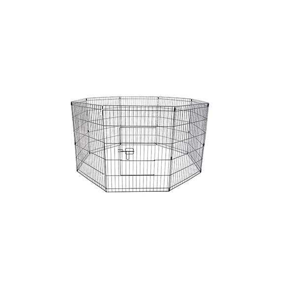 8 Panel Foldable Pet Playpen 30 Inch