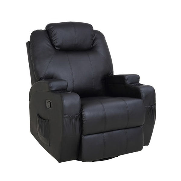 8 Point Heated Massage Sofa Recliner Chair