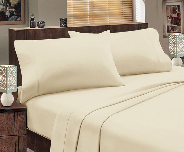 Jenny Mclean Flannelette Egyptian Cotton Sheet Set King