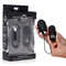 Master Series Thunder Egg - Black USB Rechargable Egg with Wireless Remote