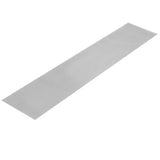30 Piece Aluminum Gutter Guard 0.7 Mm Thickness - Silver