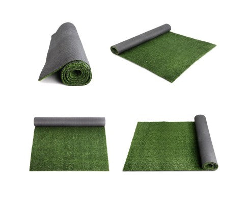 Artificial Grass 19 SQM Synthetic Artificial Turf Flooring 15mm Olive