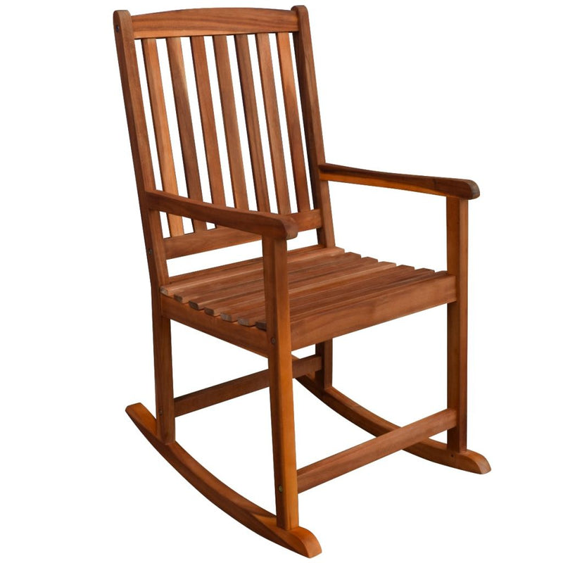 Acacia Wood Garden Rocking Chair
