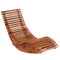 Acacia Wood Rocking Sun Loungers 2 Pieces