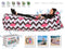 Airpod Inflatable Leisure Lounge Digital Print - Zigzag Flamingo