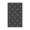 Alfresco Night Silver Woven Polypropylene Rug