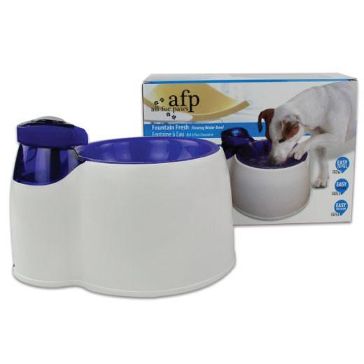 All For Paws Interactive Fountain Fresh Pet Water Filter Bowl, Pet Toys & Supplies, All For Paws - ozdingo