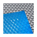 Aquabuddy 10.5M X 4.2M Solar Swimming Pool Cover - Blue