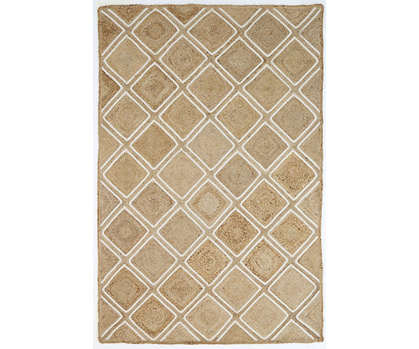 Artisan Natural Parquetry Rug
