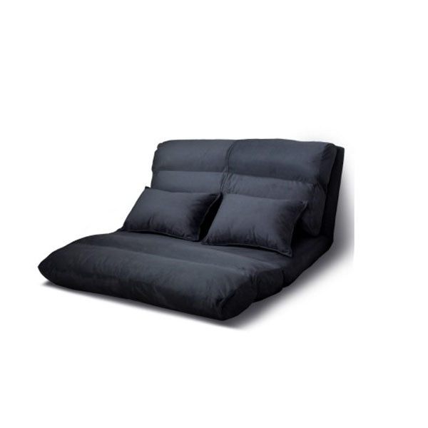 Lounge Sofa Bed Floor Recliner Chaise Folding Suede