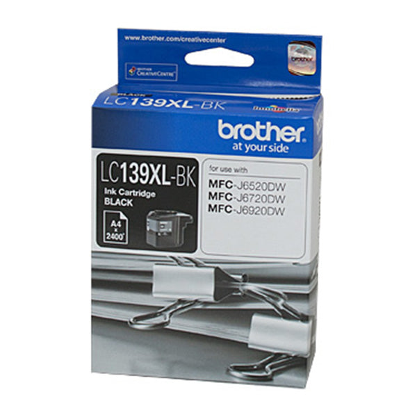 Brother LC139XL Black Ink Cart