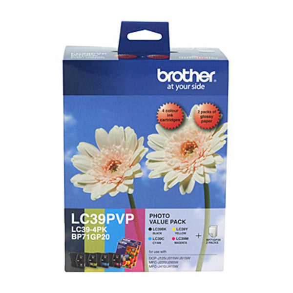 Brother LC39 Photo Value Pack