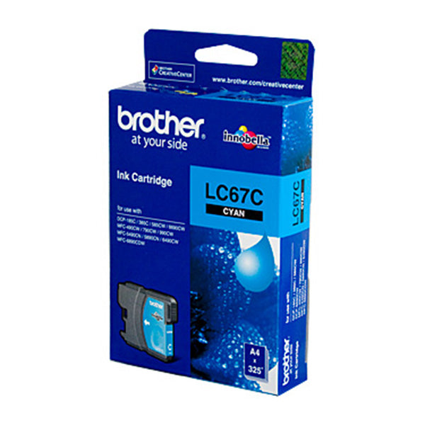 Brother LC67 Cyan Ink Cart